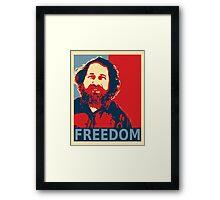 Richard Stallman Framed Print