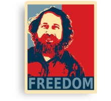 Richard Stallman Canvas Print