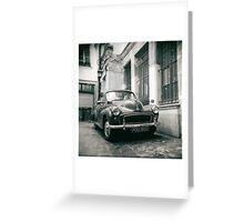 rue des gravilliers, paris Greeting Card