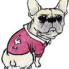State of Origin French Bulldog by Liddle-Ideas