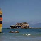yachts & rocks by stickelsimages
