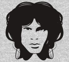 Jim Morrison (black) by Brad Sharp