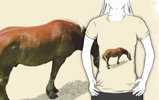 Horse from Kristberg (T-Shirt & iPhone case) by Lenka