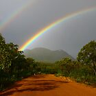 Rainbows over Ranges (Stirling Ranges, WA) by Jennifer and Paul Cave