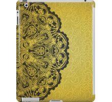 Gold vintage  iPad Case/Skin