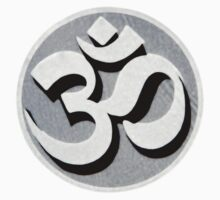 Aum or Om - Hindu Symbol for the Omnipotent and Omniscient by Fotochoice Photography