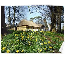 Bunratty cottage view Poster