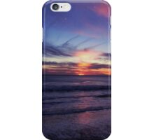 purple sunset iPhone Case/Skin