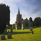 St Mary`s Church Iwerne Minster by delros
