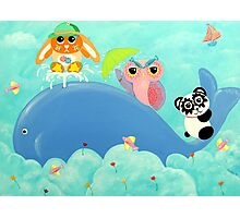 Whale Of A Time! Photographic Print