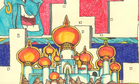 Aladdin Palace by Dylan Mazziotti