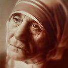 Mother Teresa by marcelfineart