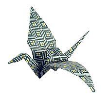 Origami bird by gordy