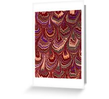 Shell Feathers Greeting Card