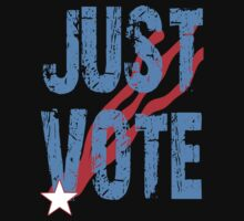 Just Vote Patriotic Voting Design by Greenbaby