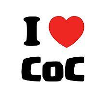Clash of Clans - I Love Coc by pregnantembryo
