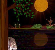 MOONLIT NIGHT by Madeline M  Allen