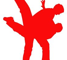 Red Karate by kwg2200