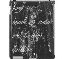 Murder of The Natural World iPad Case/Skin