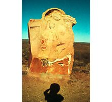 mother and child ..... desert dwellers Photographic Print