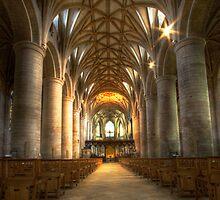 Tewkesbury Abbey Interior by igotmeacanon