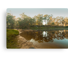 Blackwood Reflections #4, Bridgetown, Western Australia Canvas Print