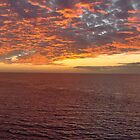 Sunset over Mexico by Nukee