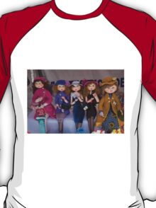 The Girls Are Dressed For Shopping T-Shirt