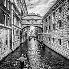 Ponte dei Sospiri, Venezia by Traven Milovich