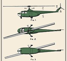 Helicopter Patent - Colour by FinlayMcNevin