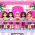 Friends at Heartlake City Mall by Addison
