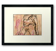 buffalo nude Framed Print