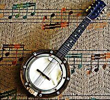 Old Mandolin by bribiedamo