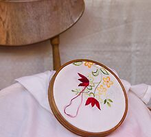 tambourine embroidery by spetenfia