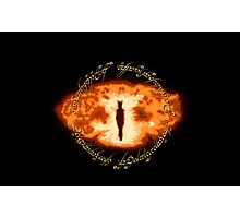 Sauron -- One Ring Photographic Print