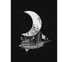 Moon Ship Photographic Print