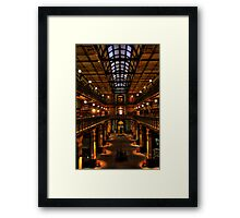 Mortlock Library HDR Framed Print