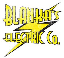 Blanka's Electric Co. by PartyMoth59