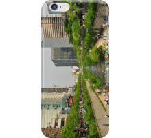Crossing The Cheonggyecheon iPhone Case/Skin