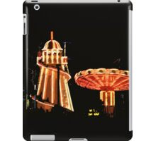 Helter-skelter and merry-go-round iPad Case/Skin