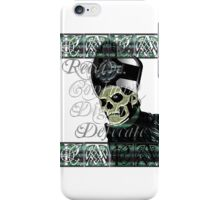 PAPA EMERITUS II - RECEIVE, CONSUME, DIGEST iPhone Case/Skin