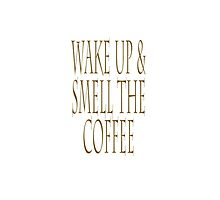 Wake up & smell the coffee! Sleepy Head by TOM HILL - Designer