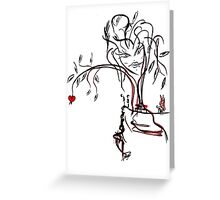 Womans Heart Greeting Card