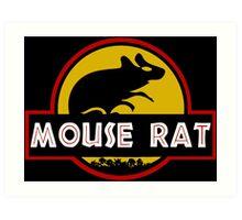 Jurassic Mouse Rat Art Print