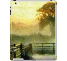 An English Country Scene in the Mist - all products except duvet iPad Case/Skin