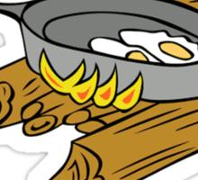 Campfire Cooking Expert Sticker