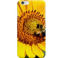 Sunflower Bee iPhone Case/Skin