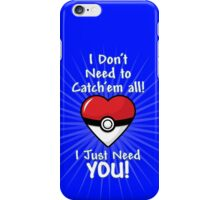 Catching You iPhone Case/Skin