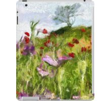 A Meadow of Spring Flowers in Romania - all products except duvet iPad Case/Skin