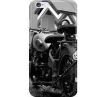 BMW Cycle & Sidecar iPhone Case/Skin